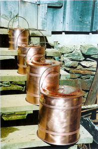 Large cooking pots